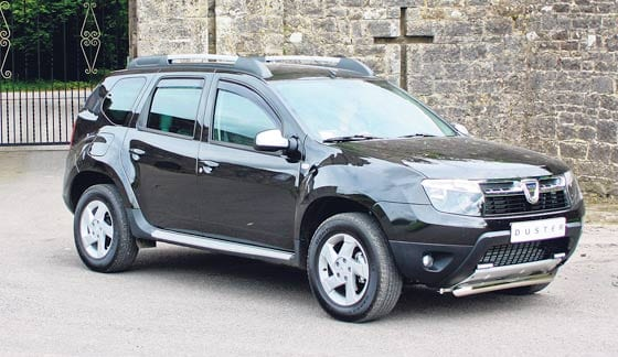 dacia duster to be a smart buy in irish suv market dublin gazette newspapers dublin news. Black Bedroom Furniture Sets. Home Design Ideas