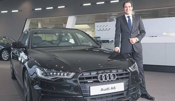 Audi Takes Home Exec Car Of The Year Award Dublin Gazette - Audi ireland