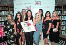 The team at Beautique Salon in Walkinstown were popular winners on the night