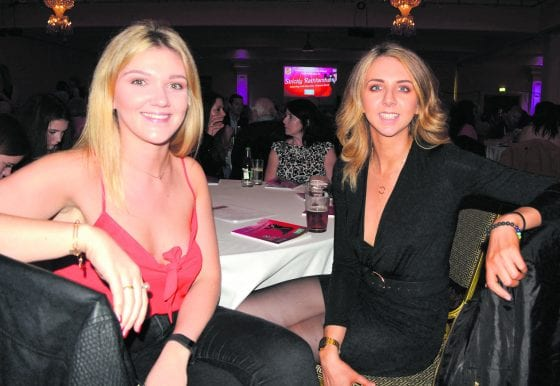 Aoife Bell-Brew and Sonya Beatty