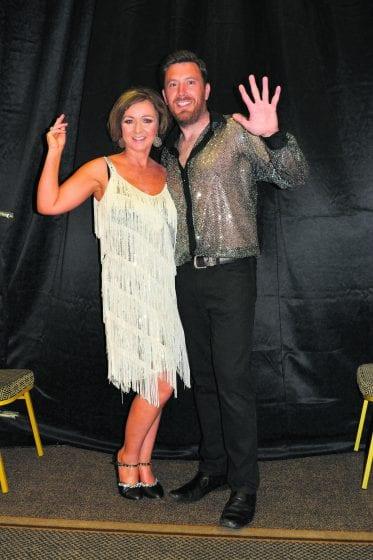 Lisa Vard (of Vard Sisters fame) and Brendan Timmons