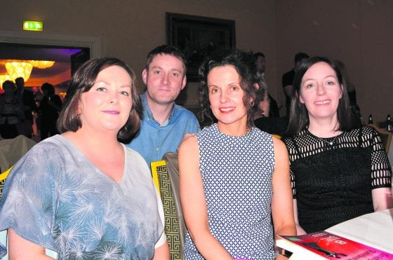 Annemarie O'Connor Helen Kinsella with Declan and Suzanne Flanagan