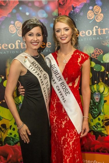 With International Rose of Tralee Maggie McEldowney