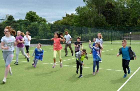 f9e0bbc6f6ba8 A warm-up before the tennis coaching. Time for a break. TAGS; dublin  gazette newspapers ...