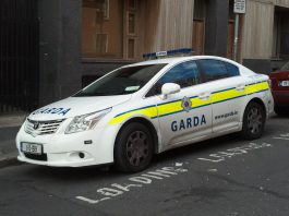 Garda car
