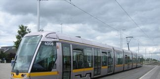 Heineken staff are visiting Dublin pubs to give lucky punters a free Luas trip home