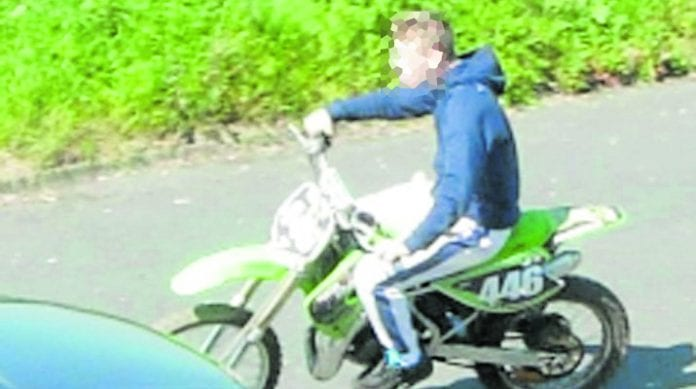 A cross-agency meeting was held in an attempt to tackle the misuse of scrambler and quad bikes.