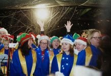 The Lucan Gospel Choir will be the final act at the Simon Community's Christmas Carolathon
