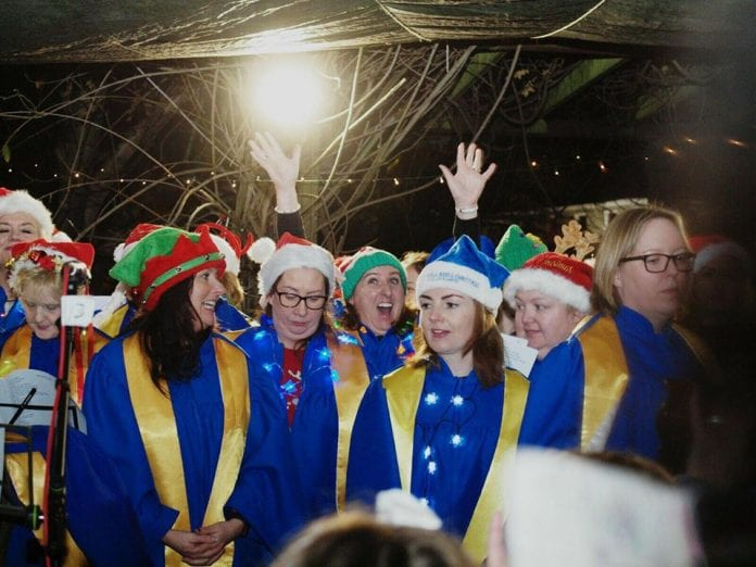 The Lucan Gospel Choir will be the final act at the Simon Community's Christmas Carolathon