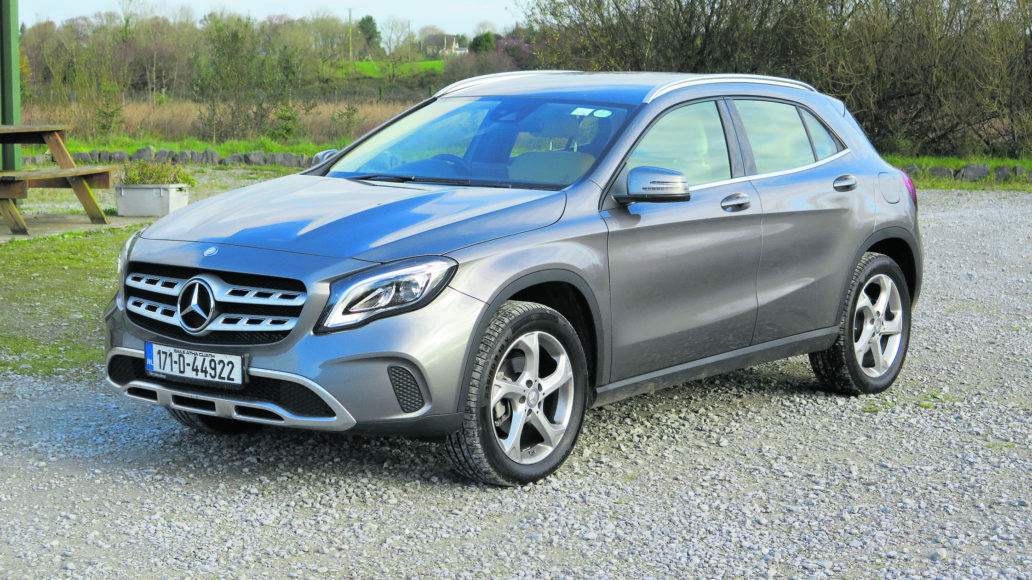 Mercedes benz refreshes its compact suv dublin gazette for Mercedes benz compact suv