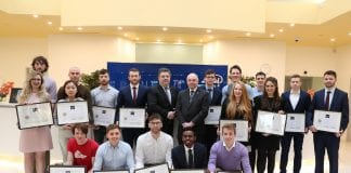 The Intel grant recipients from UCD.