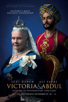 Poster for Victoria and Abdul.
