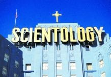 Scientology HQ building, California