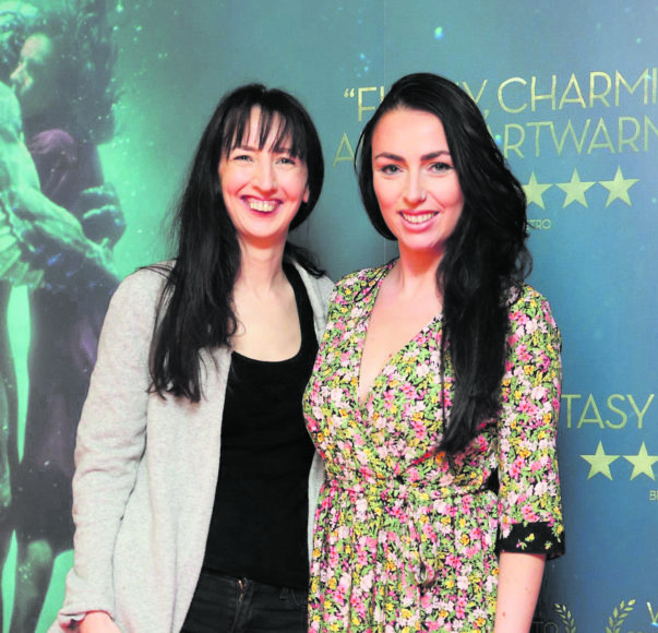 Clodagh Kelly and Eileen Sutton at the Irish premiere of The Shape of Water at The Lighthouse Cinema, Dublin Picture Brian McEvoy Photography No Repro fee for one use