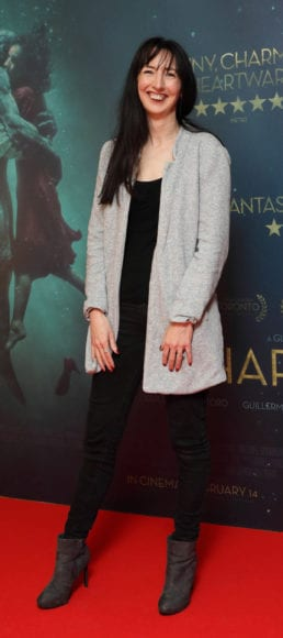 Clodagh Kelly at the Irish premiere of The Shape of Water at The Lighthouse Cinema, Dublin Picture Brian McEvoy Photography No Repro fee for one use