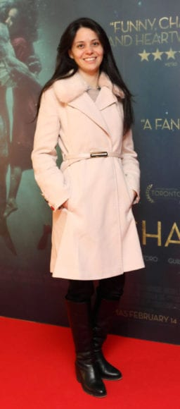 Julianna Apolinario at the Irish premiere of The Shape of Water at The Lighthouse Cinema, Dublin Picture Brian McEvoy Photography No Repro fee for one use