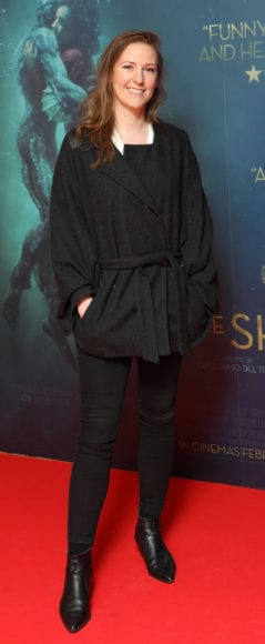 Karen Reid at the Irish premiere of The Shape of Water at The Lighthouse Cinema, Dublin Picture Brian McEvoy Photography No Repro fee for one use