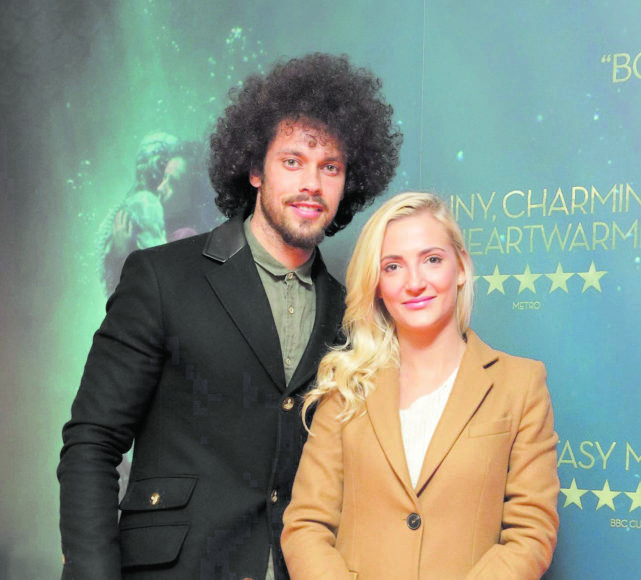Carl Shabban and Agata Matkowska at the Irish premiere of The Shape of Water at The Lighthouse Cinema, Dublin Picture Brian McEvoy Photography No Repro fee for one use