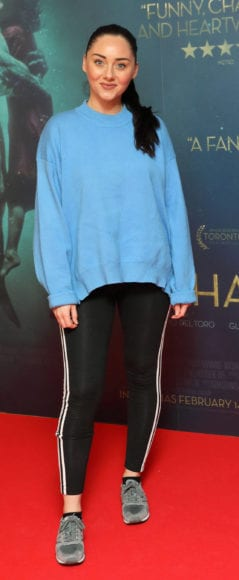 Audrey Hamilton at the Irish premiere of The Shape of Water at The Lighthouse Cinema, Dublin Picture Brian McEvoy Photography No Repro fee for one use