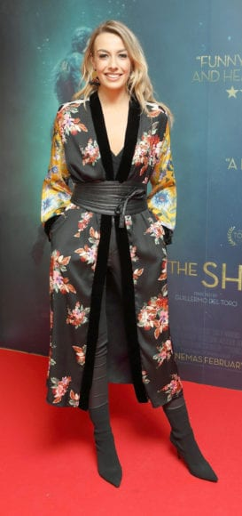 Blathnaid Treacy at the Irish premiere of The Shape of Water at The Lighthouse Cinema, Dublin Picture Brian McEvoy Photography No Repro fee for one use