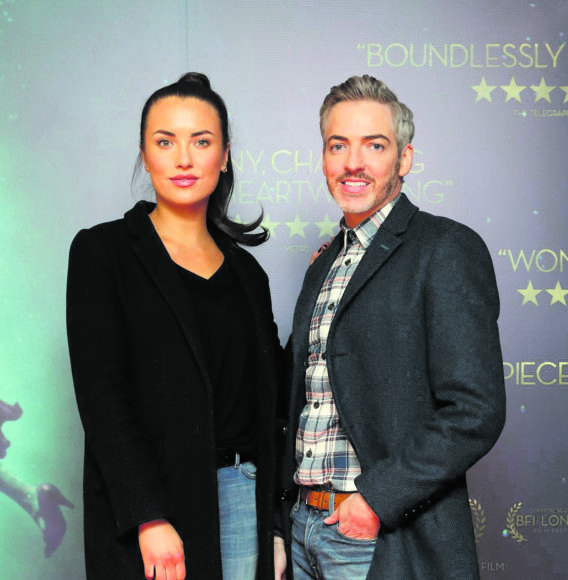 Holly Carpenter and Dillon St.Paul at the Irish premiere of The Shape of Water at The Lighthouse Cinema, Dublin Picture Brian McEvoy Photography No Repro fee for one use