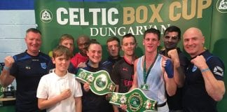 St Mary's Boxing Club's Kellie Harrington and George Bates were crowned national champions once again