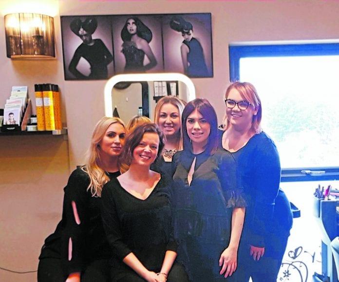 Jolene McCarthy, Lea Kendellen, Clara Duke, Kate McGarry and Aisling Dardis