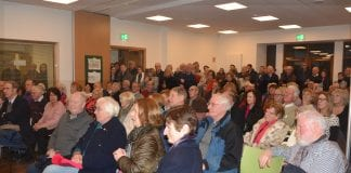 """Launch of booklet Main Street: A History of the Heart of Dundrum"""" in Holy Cross Parish Hall, Dundrum"""
