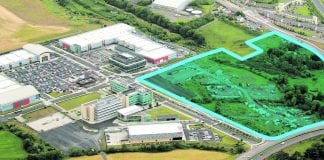 The zone at The Park, Carrickmines proposed for development