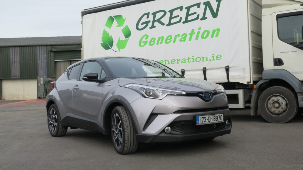 toyota c hr hybrid makes a clear statement dublin gazette newspapers dublin news sport and. Black Bedroom Furniture Sets. Home Design Ideas