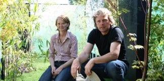 Veteran show garden designers Oliver and Liat Schurmann from Rathfarnham