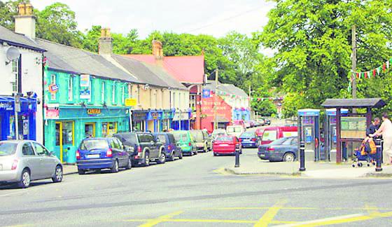 Lucan village