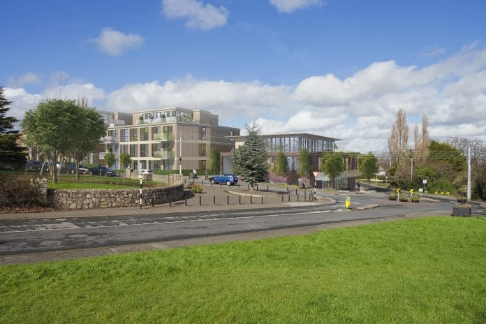 CGI of proposed Union Cafe site at Mount Merrion