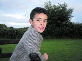 Dylan is living with Duchenne Muscular Dystrophy – this is a progressive muscle-wasting disease which will eventually affect his whole body