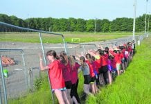 Frustrated Lucan Harriers club members can only look on as track refurbishment is put on hold due to contractor going into administration