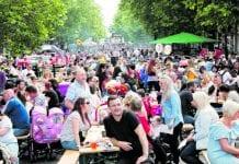 Locals enjoying last year's Swords Summer Festival (Pic: Alison O'Hanlon)