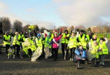 The Tallaght Litter Mugs in action at Sean Walsh Park