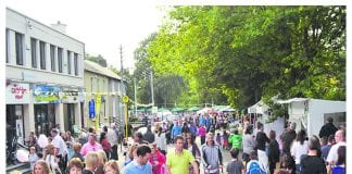 Locals enjoying last year's Lucan Festival