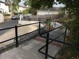 New walkway to the school