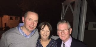 Mick Fleming, Cllr Lettie Mc Carthy and Des Kennedy