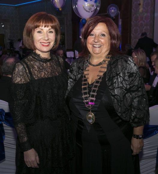 Minster Josepha Madigan & Aileen Eglington. Photo: Paul Sherwood
