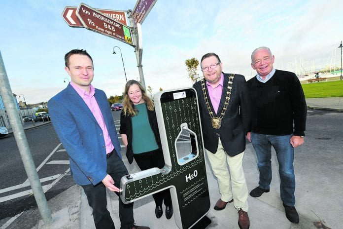 Mayor of Fingal, Cllr Anthony Lavin was joined by Fingal County Councillors Cian O'Callaghan, Daire Ní Laoi and Jimmy Guerin..