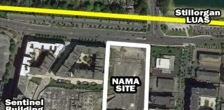 Sandyford NAMA site