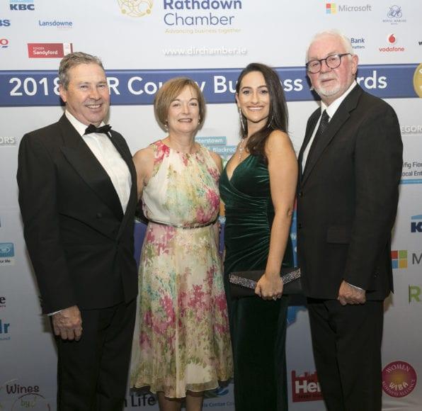 Tony Mallon. Carmel Knight, Rebecca Ryan and Michael McGovern. Photo: Paul Sherwood