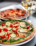 Wood fired pizzas at Union Cafe