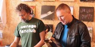 Dún Laoghaire Vinyl Festival Directors Neil Goodman and Brian O' Flaherty