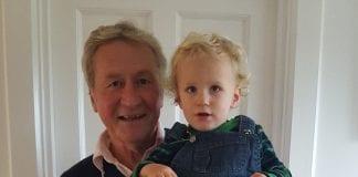 Don Briggs with grandson Flynn