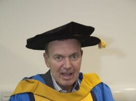 Fr Tony was recently recognised for his life's achievements by UCD