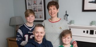 Declan and his family