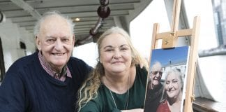 Fiona Jennings and her dad Tony - Photo Chris Bellew /Fennell Photography